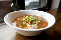 Shinobi Ramen - Mabo Ramen ( Miso Chicken Broth) by nicknamemiket on Flickr.