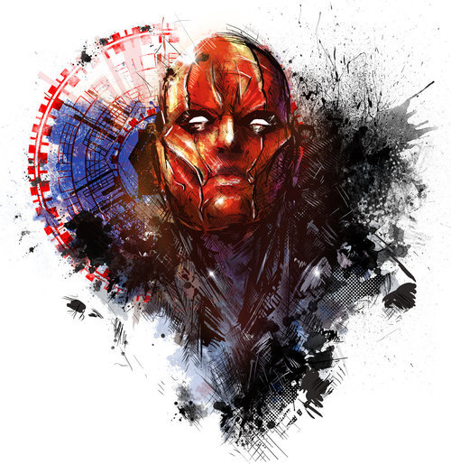 dcplanet:  Red Hood  Art by VVernacatola DC Fan Arts #29