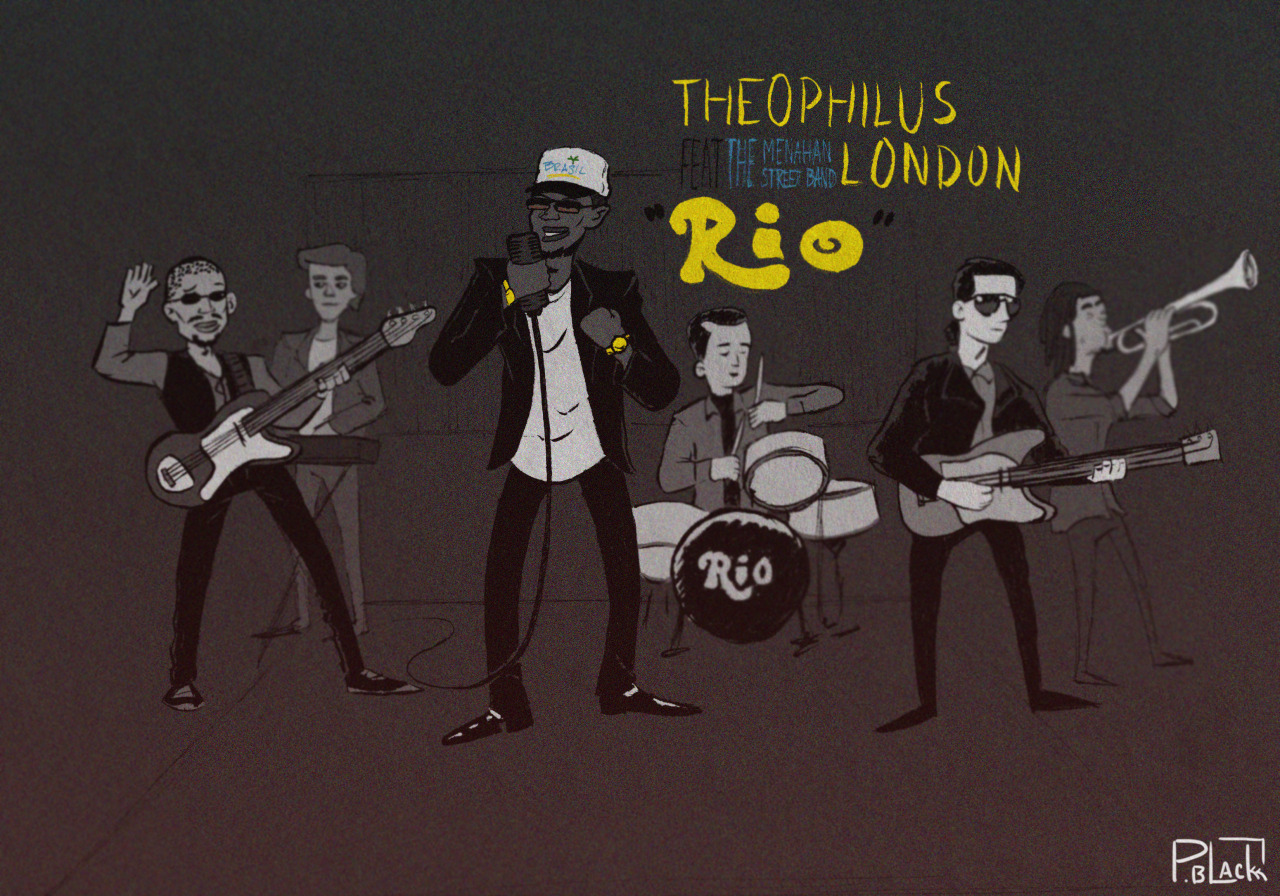 "I made this because ""Rio"" by @TheophilusL has been on rotation for about 2 weeks or so now.  Check it out here if you haven't.  [http://www.youtube.com/watch?v=Vl6djB1AtyU]"