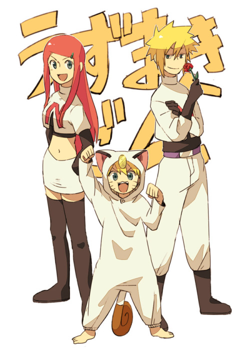 stirringwind:  shpinkblossom:  Team Rocket. Naruto Style  YOU WIN THE INTERNETS