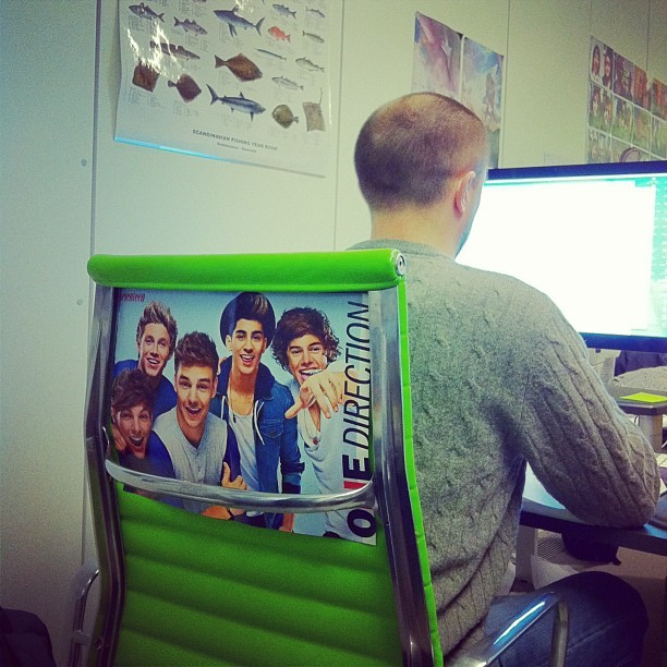 One Direction forever. (at Leo Burnett London)