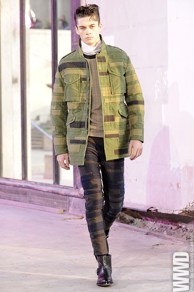womensweardaily:  3.1 Phillip Lim Men's RTW Fall 2013 Based on the idea of a guy hopping on a Harley and going on a journey, everything had an easy feel to it.  For More WWD.com's complete coverage of Men's RTW Fall 2013
