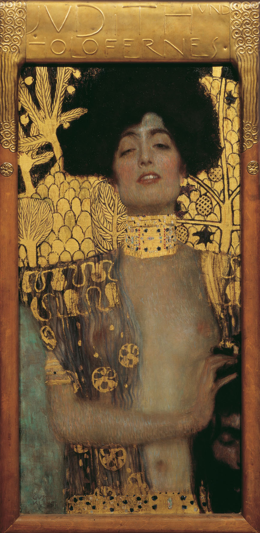 mordicant:  Gustav Klimt, Judith and the Head of Holofernes, 1901