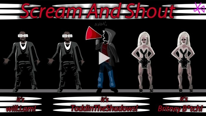 Will.I.Am and Britney Spears make Todd In The Shadows want to scream and shout, and break things. WATCH NOW ON BLIP: Scream and Shout