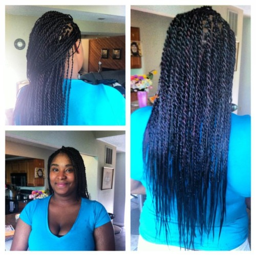 @meelaah__x's #senegalesetwists! Started at 9:30 - finished before 6! :)
