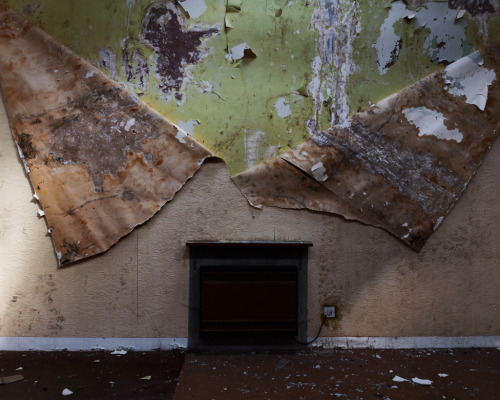 abandonedography:  Peeling Wallpaper, Royal Cornhill Asylum, Scotland by Scott Murray