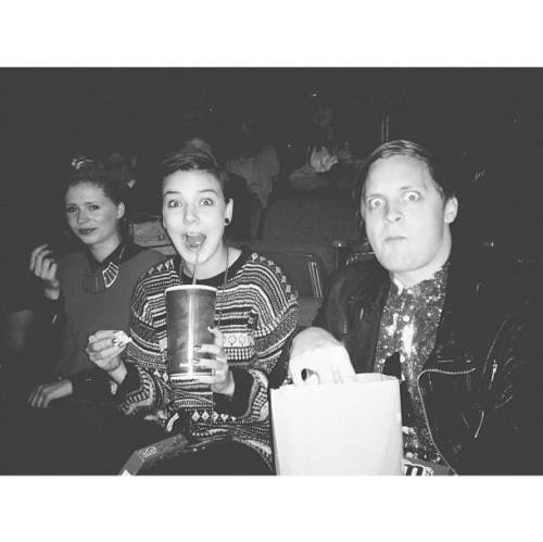 fuckyeahofmonstersandmen:  day off = movie night. Via @ofmonstersandmen instagram