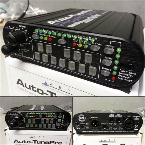 The Auto-Tune Pre combines an ART tube preamp channel with integrated Antares Auto-Tune® processing in a compact accessible package ideal for studio or stage. Get it here on ebay: http://www.ebay.com.au/itm/ART-Auto-Tune-Pre-Tube-Mic-Pre-Amp-/200998558284?pt=AU_Pro_Audio&hash=item2ecc729a4c
