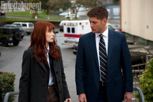 thisfeliciaday:  (via 'Supernatural' First Look: Charlie and Dean team up for a case | Inside TV | EW.com)  Photo from my upcoming Supernatural Episode on April 24th!  So psyched for you to see it, set your calendars!