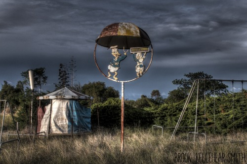 HDR from Abandoned Drive-In Theatre.Brook Kellehear-Smith
