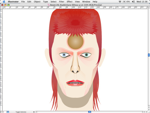 Changes  David Bowie Further work-in-progress