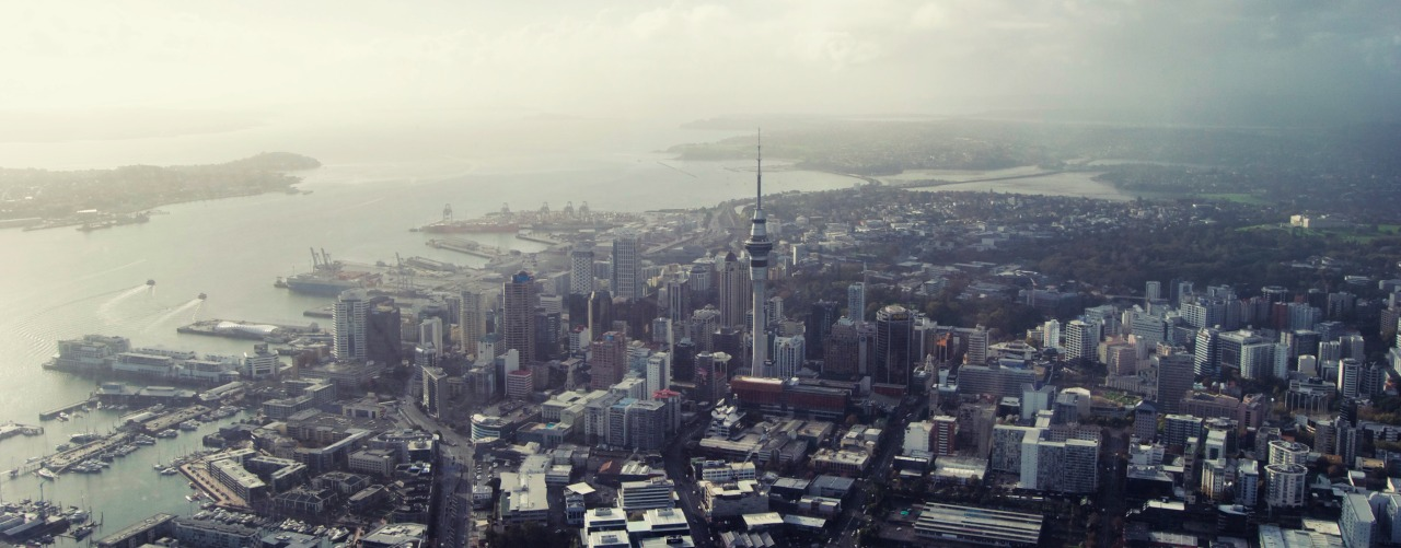 blackadvertiser:  Auckland from above