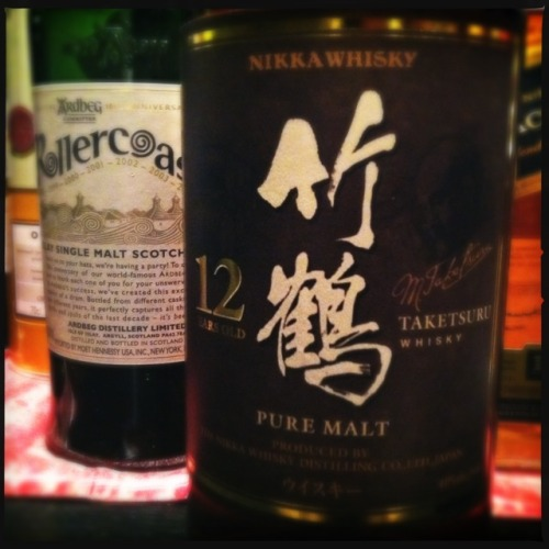 #nikkawhisky—new addition to our #malt #whisky family. Malty, nutty, flavorful. Yum!