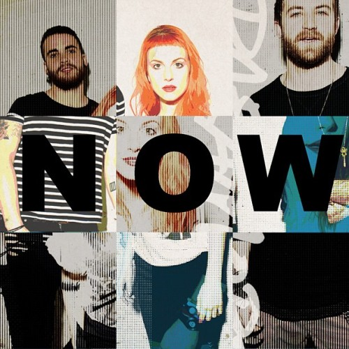 paramore:  Here's the cover artwork for 'Now' - available January 22nd. #paramore
