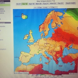 Heatwave in NE Europe. Let's enjoy while it lasts! Mēs jau sen bijām to pelnījuši!