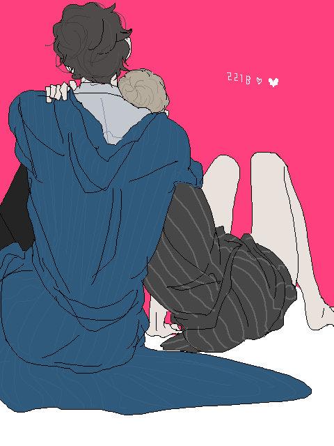 ee6403dododo:  johnlock^^