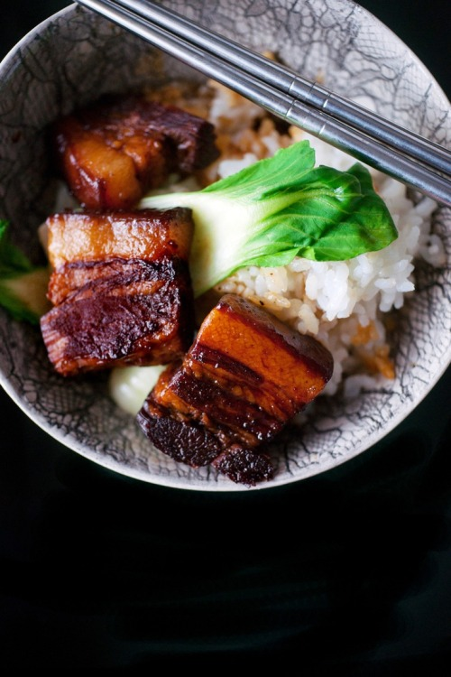 basilgenovese:  Red Braised Pork Belly