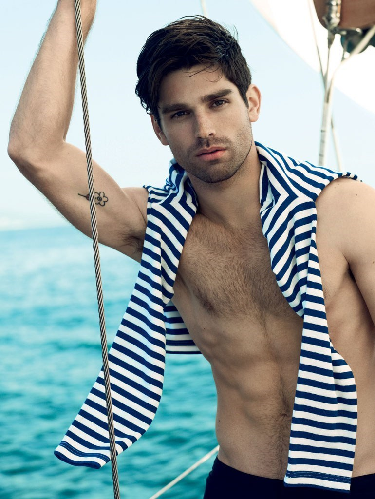 homotography:  Justin Gaston by Dean Isidro