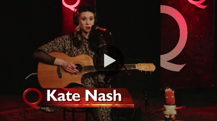 "The darling Kate Nash, singer-songwriter from the UK, steps into Studio Q to give some basic tips on how she builds a song from the ground up.  Kate also founded the ""Rock n Roll for Girls After-School Music Club"" to help inspire teenage girls to get into songwriting and creating their own music. WATCH NOW: Songwriting with Kate Nash"