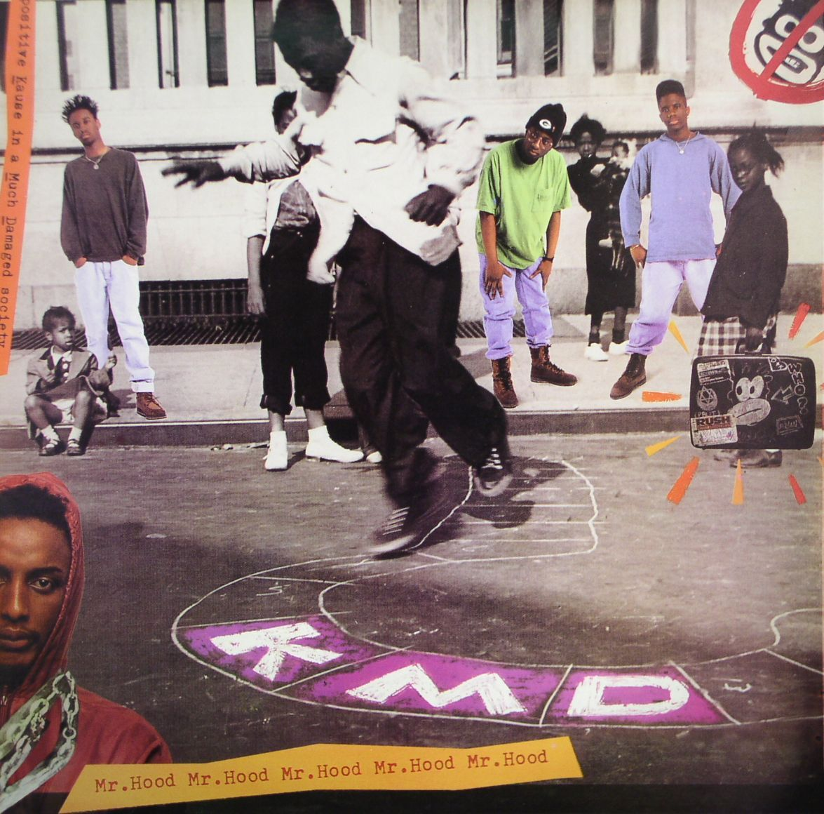 upnorthtrips:  BACK IN THE DAY |5/7/91| KMD releases their debut album, Mr. Hood,  through Elektra Records