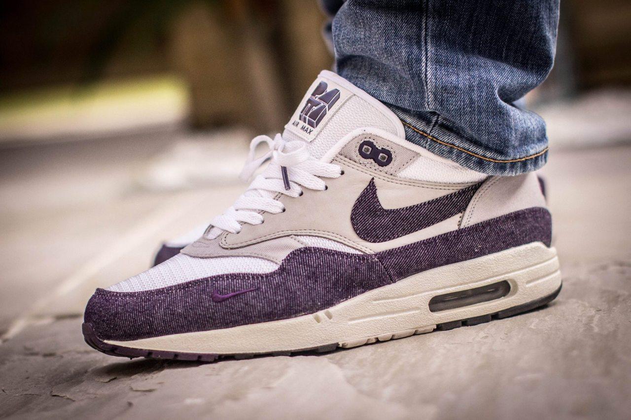 Patta x Nike Air Max 1 'Purple Denim