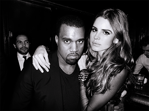 moonglas:  LANA? With KANYE? Ah, perf picture! x