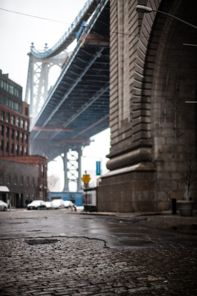 clubmonaco:    Dumbo, Brooklyn   Dumbo is one of my favorite places to shoot in the city, always a great view. -Ryan Plett