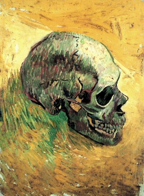 twenty4hundred:  Vincent van Gogh - Skull (1888)