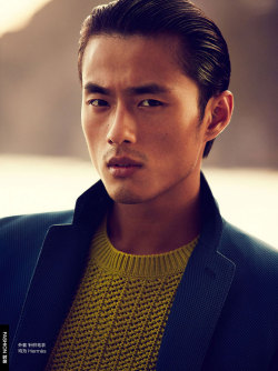 Zhao Lei by Will Davidson for GQ China