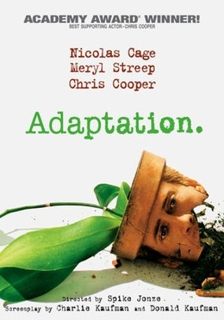 I'm watching Adaptation                        Check-in to               Adaptation on GetGlue.com