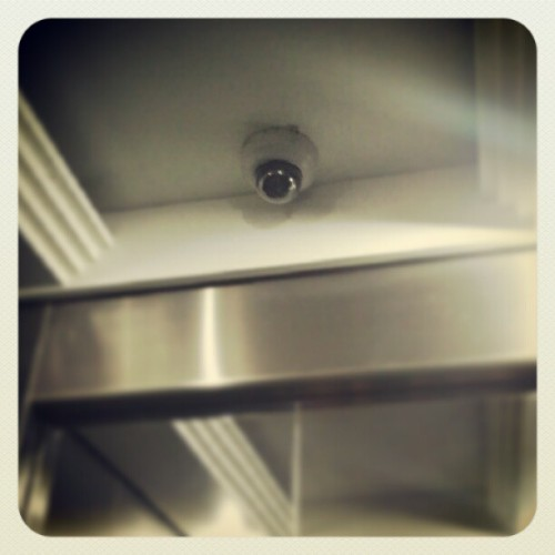 Say hi to security cameras! #thingstodowhenbored :D (at Insular Bldg)