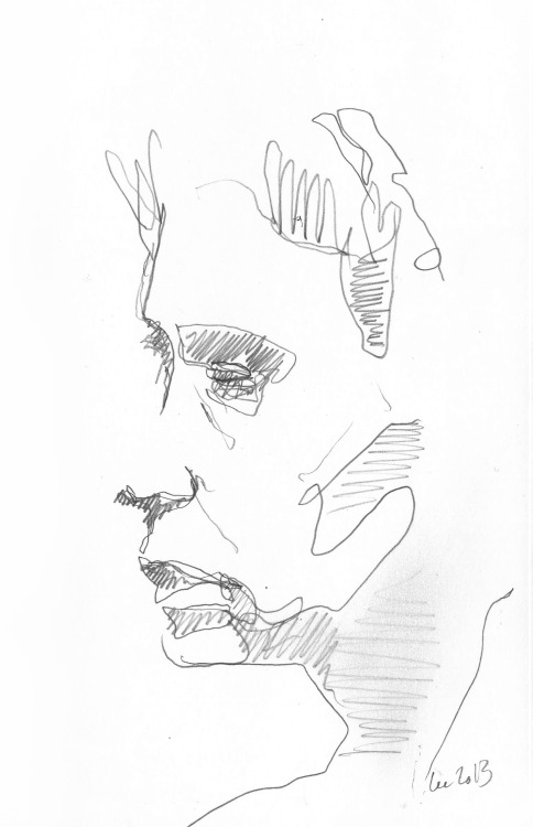Fast Sketch 08 Lee Woodman 2013