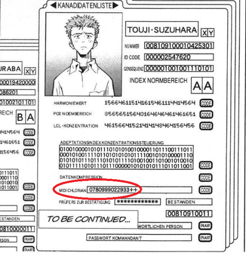 jeffyg:  Did I just find a… Star Wars reference in the Evangelion manga? The Force is strong with Toji - it's clear why he was chosen by Seele to be the Fourth Child. Such a high midichlorian count - Anakin Skywalker doesn't have shit on him.