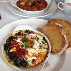 Breakfast is served.. 😋😋😋 (at Pimlico Fresh)
