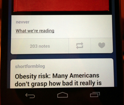 Android Tumblr action touch-targets much better. Just sayin'.