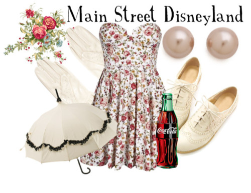 Main Street Disneyland by everythingisdisney