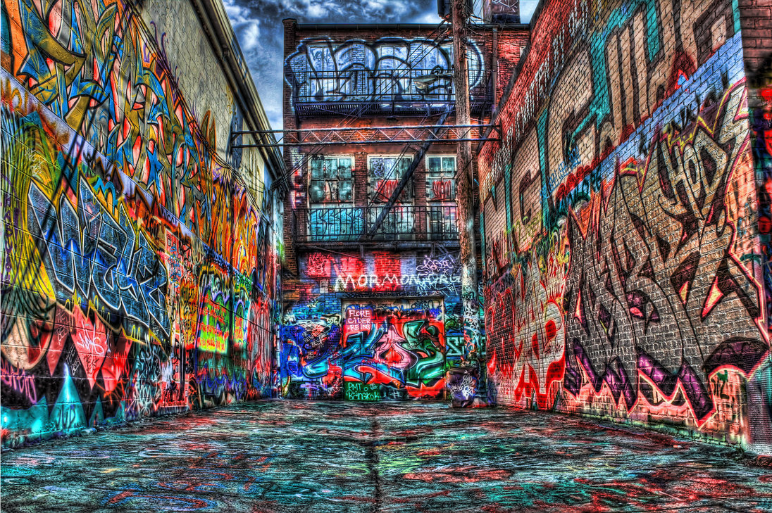 electricwit:  Graffiti Alley, Baltimore, Maryland, U.S.