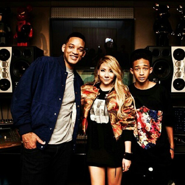 Will and Jaden Smith with @chaelin_cl ;;)