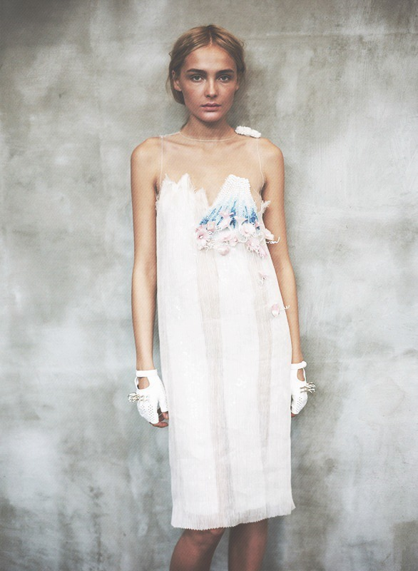 deauthier:  Snejana Onopka @ her fitting for Rodarte S/S 2008.