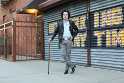 "humansofnewyork:  ""Do you need the cane?"" ""I need it when I'm wearing these shoes."""