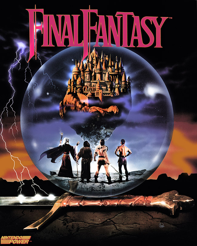 darth-em:  Final Fantasy NES Poster (1987)