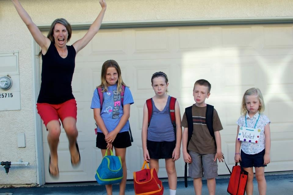 "Best ""first day of school"" photo, EVER…"