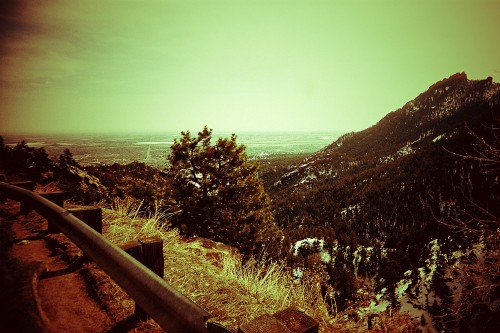 therearetwoworlds:  BOULDER, CO