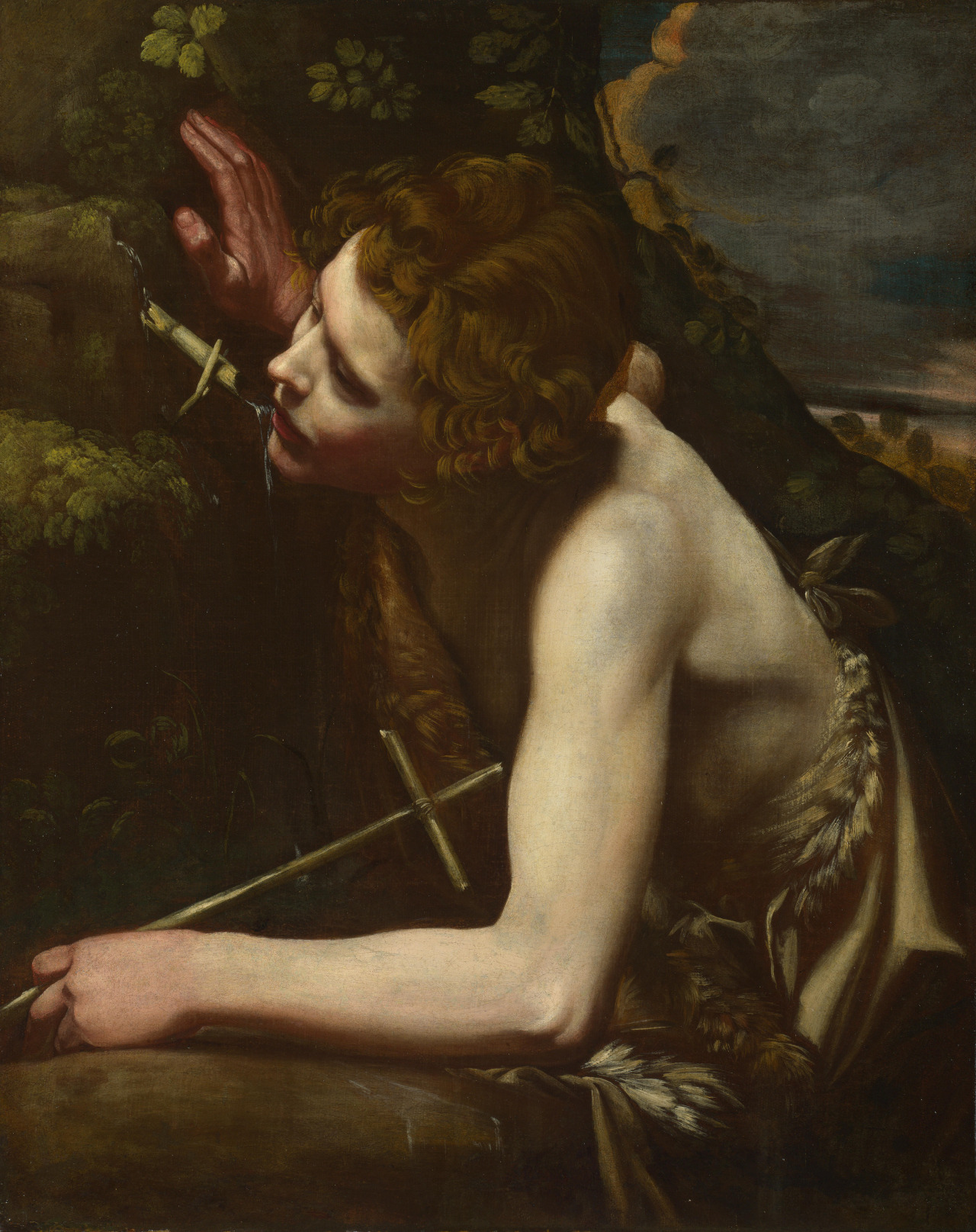 Saint John the Baptist, London National Gallery