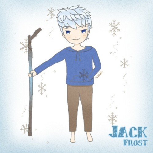 Jack Frost (Rise of the guardians) I love him ♥♥♥