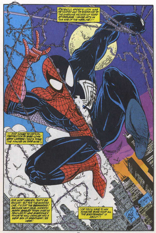 Spider-Man By Erik Larson and Todd McFarlane