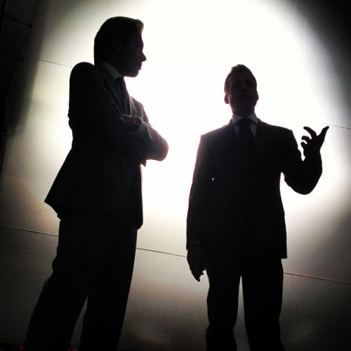 machtaholic:  Master and the apprentice - @halfadams- #webstagram  They're really going to kill me with this….