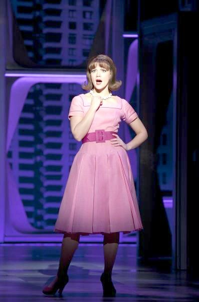 princetonspurpose:  Rose Hemingway as Rosemary Pilkington in How To Succeed In Business Without Really Trying 2011 Broadway Revival
