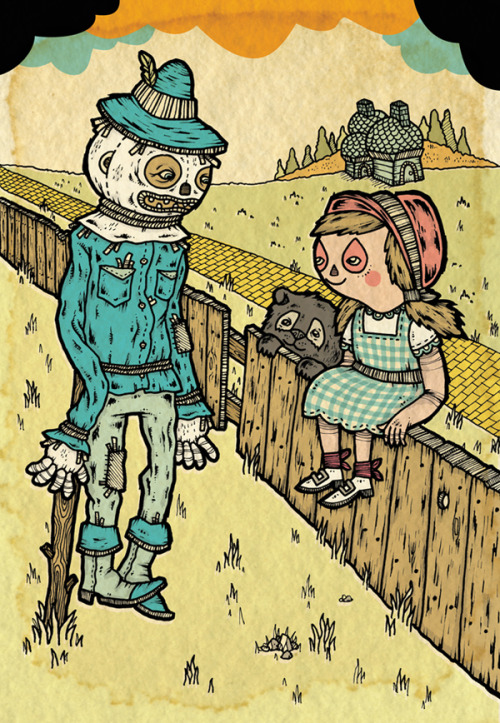 harperdesignbooks:  The Wonderful Wizard of Oz gets a fresh new look with illustrations by Michael Sieben!