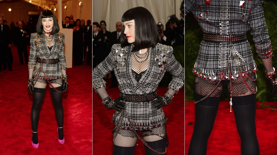 Met Gala, yes. Madonna, yes. Nicole Ritchie, maybe.  I'm pretty sure Ms. Havisham did not have that tan of a face though.